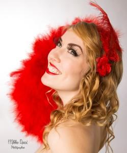 Feather fan, Kiki LaFox